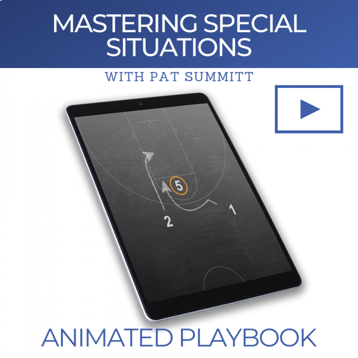 Mastering Special Situations with Pat Summitt | Animated Play Breakdown