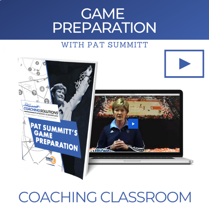 Game Preparation with Coach Pat Summitt | Online Coaching Classroom