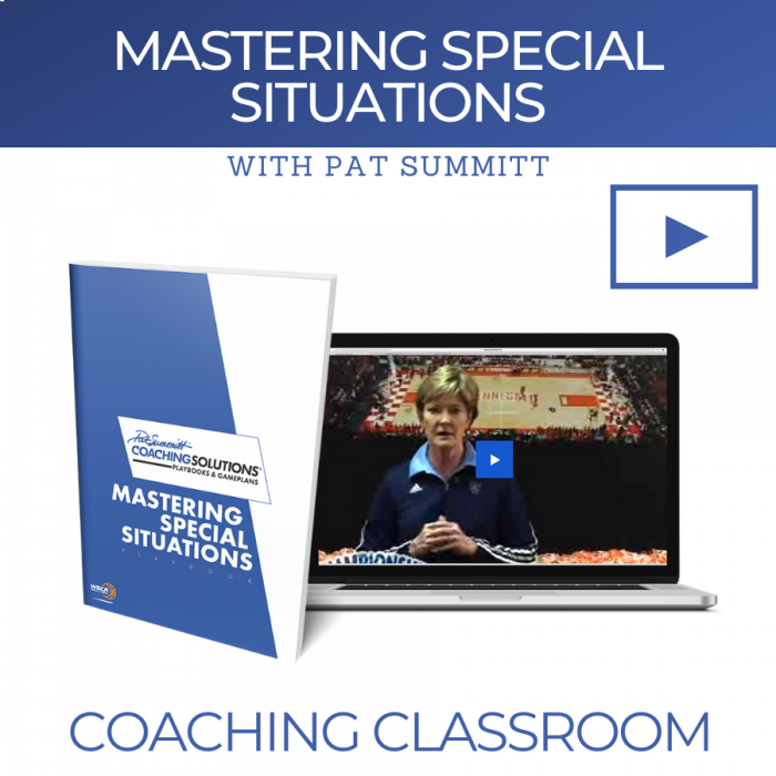 Mastering Special Situations with Coach Pat Summitt | Online Coaching Classroom